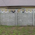 Строительство забора из бетонных панелей