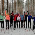 Занятие по беговым лыжам – 2 варианта