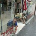 Ремонт стеклянных дверей
