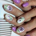 Ручная роспись ногтей