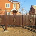 Сварка металлических ворот