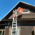 Александр Пожелаев, Работы с электрооборудованием в Приозерске
