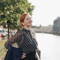 Анна Гребнева, Студийная фотосессия в Калининском районе